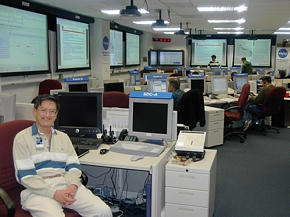 Working in Mars Mission Control, JPL